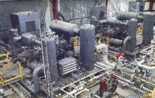 Laser Scan of Compressor Station